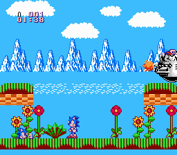 Sonic the Hedgehog (NES) Improved