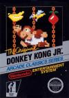 Donkey Kong Jr Box Art Front