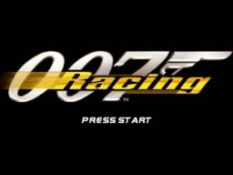 007 Racing Title Screen
