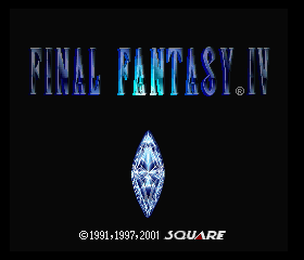 Final Fantasy Chronicles - Final Fantasy IV
