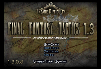 Final Fantasy Tactics 1.3