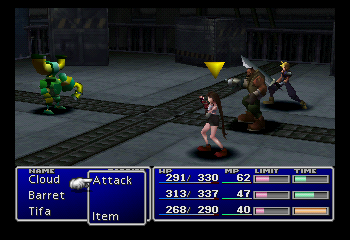 Play Final Fantasy Vii Online Psx Game Rom Playstation