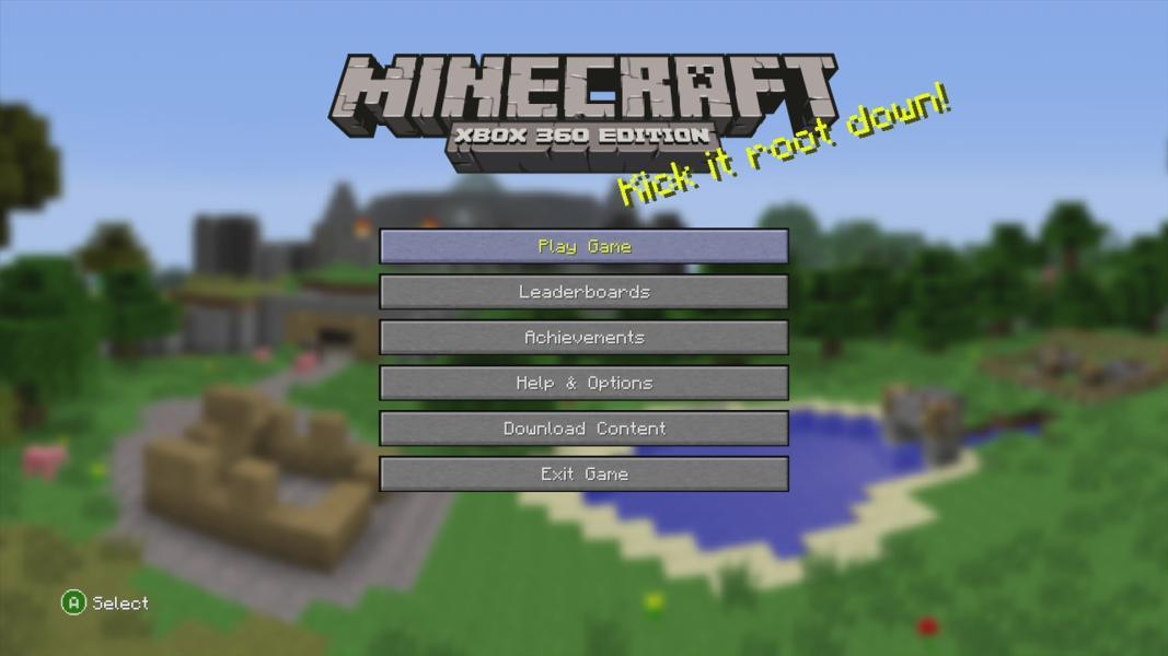 Minecraft X360 Game Xbox 360 Minecraft X360