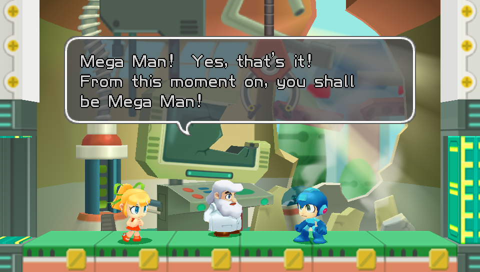 Megaman powered up roll (part 1) youtube.