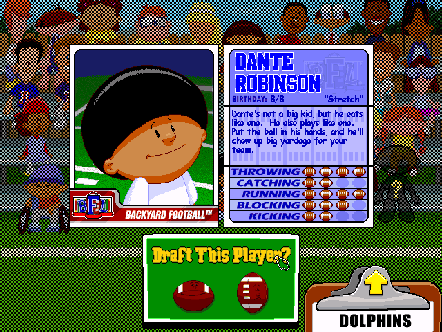 Backyard Football Plays play backyard football online pc game rom - windows emulation on