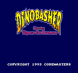 Dinobasher Starring Bignose the Caveman (Proto)
