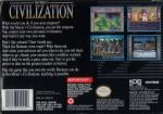 Civilization Box Art Back