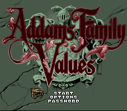 Play <b>Addams Family Values Boss Rush</b> Online