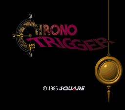 Chrono Trigger Title Screen