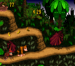 donkey kong country snes rom