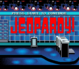 Jeopardy! - Sports Edition Title Screen