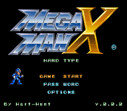 Play Mega Man X – Hard Type (v.2.2.2)  SNES Rom Hack