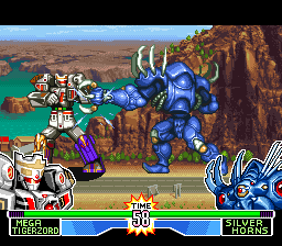 Play Mighty Morphin Power Rangers Fighting Edition Online Snes