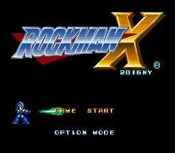 Play Rockman X – 2016 New Year's Hack