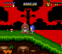 Sonic the Hedgehog - SNES