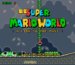 Super Mario World - A Link to the Past (demo 1)