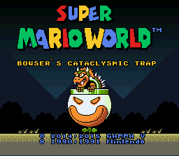 Play Super Mario World - Bowser's Cataclysmic Trap Online