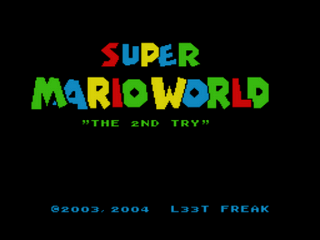 Super Mario World - The 2nd Try