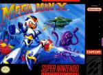 Mega Man X Box Art Front