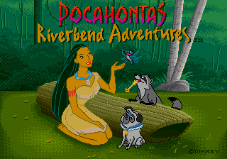 Play <b>Pocahontas Riverbend Adventures</b> Online