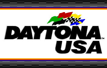 Daytona USA Title Screen