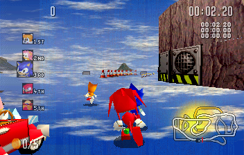 Sonic R Screenshot 1