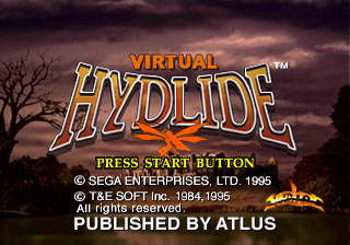 Play <b>Virtual Hydlide</b> Online