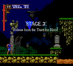 Castlevania - Rondo of Blood (english translation) Screenthot 2