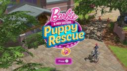 Barbie and Her Sisters: Puppy Rescue Title Screen