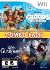Croods, The: Prehistoric Party! & Rise of the Guardians Combo Pack