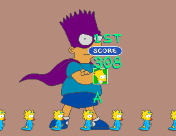 The Simpsons (4 Players World, set 1) -  - User Screenshot
