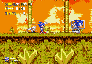 Sonic 3 Complete - No one can beat me. - User Screenshot