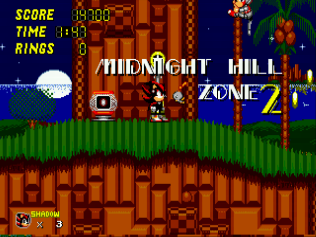 Play Sonic 2 - Project Shadow Online GEN Rom Hack of Sonic