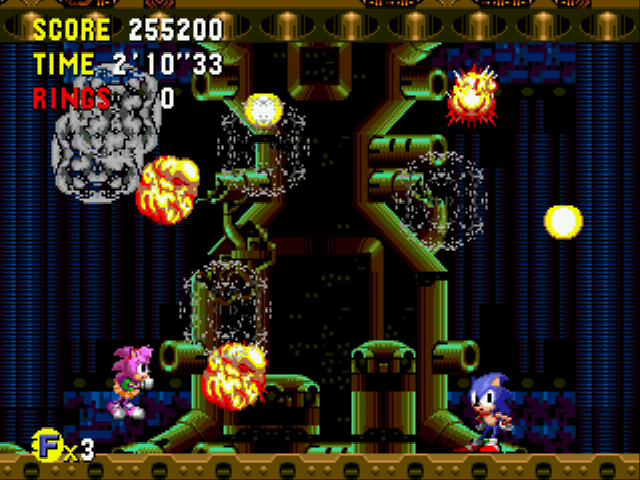 Sonic CD (european version) - my score - User Screenshot