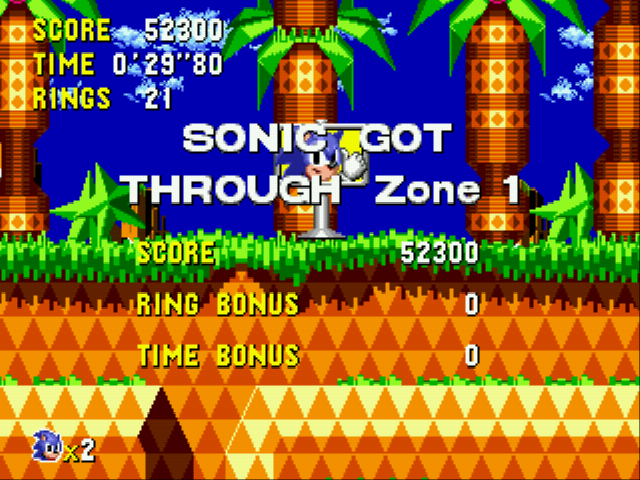 Sonic CD (european version) - 0`29``80(29 secs) =P - User Screenshot