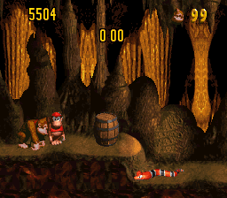 Donkey Kong Country - Competition Edition - mistakes still - User Screenshot
