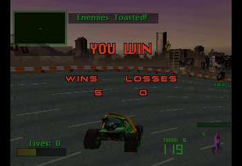 Twisted Metal 2 - Done! - User Screenshot