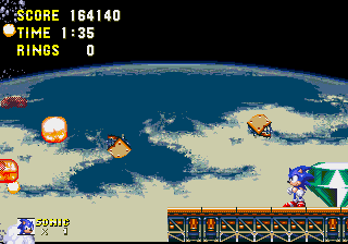 Sonic and Knuckles - I did it! - User Screenshot