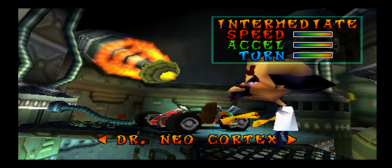 Crash Team Racing - Character Select  - Dr. Neo Cortex - User Screenshot