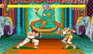 Street Fighter Ii The World Warrior World 910522 Mame Game