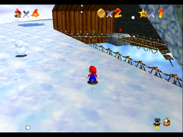 Super Mario 64 Beta Remake by Dudaw12 (beta 1) hack (N64) Game