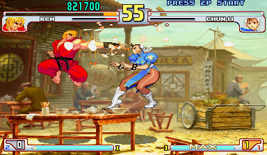 Street Fighter III 3rd Strike: Fight for the Future (Euro 990608) - Battle  -  - User Screenshot