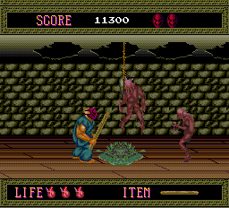 Splatterhouse - Level  -  - User Screenshot
