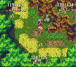 Seiken Densetsu 3 - 3-player Edition - this is how you open a box slice it - User Screenshot