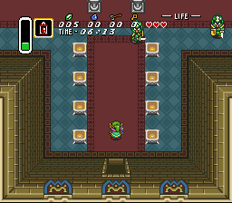 Zelda 3 - Day & Night Cycle - In the castle  - User Screenshot