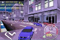 Need For Speed Carbon Own The City Gba Game Game Boy Advance
