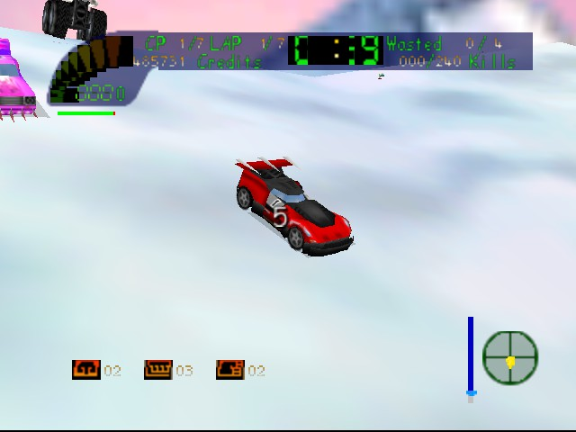 Carmageddon 64 - Location  - Max Damage