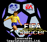 FIFA International Soccer - Introduction  -  - User Screenshot