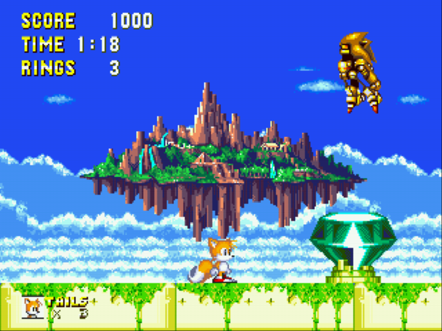 Play Sonic and Knuckles & Sonic 3 Online GEN Game Rom - Sega