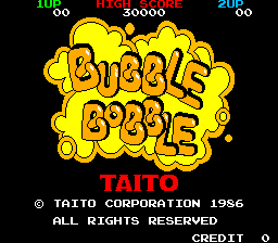 Bubble Bobble - Introduction  -  - User Screenshot